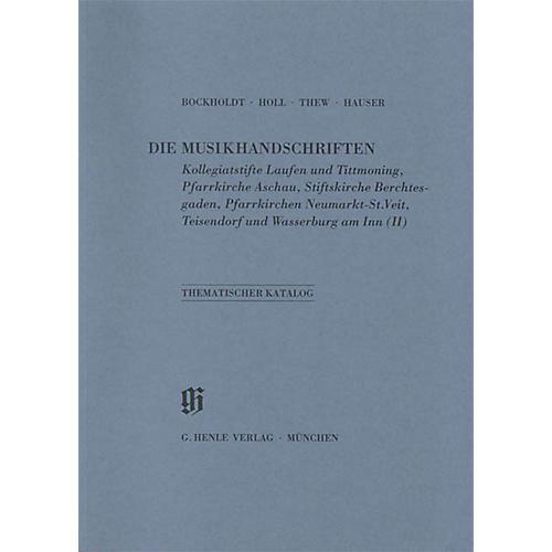 G. Henle Verlag Kollegiatstifte Laufen und Tittmoning Aschau Berchtesgaden Neumarkt Teisendorf und Wasserburg am Inn Henle Books