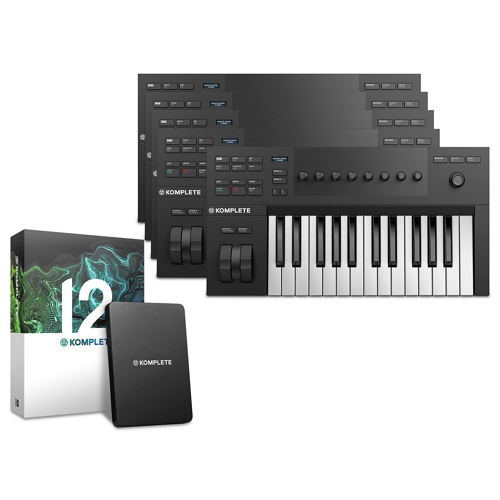 Native Instruments Komplete Kontrol A25 with Komplete 12 Educational 5-Pack