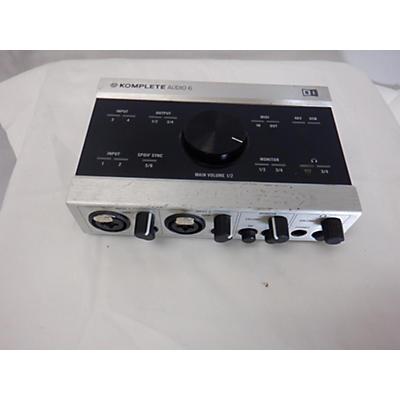 Native Instruments Komplete Kontrol Audio 6 Audio Interface
