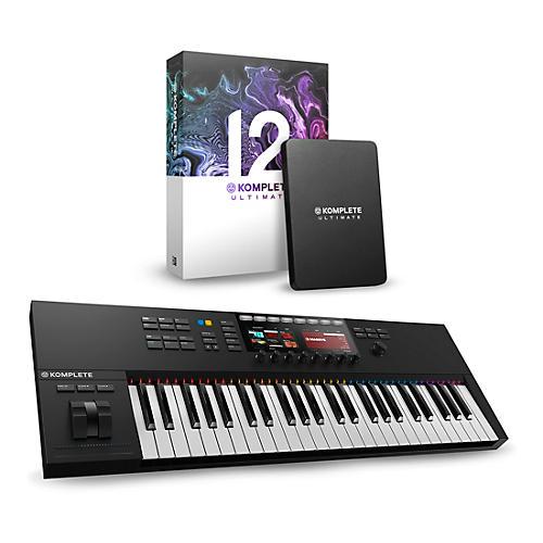 native instruments komplete kontrol s49 mk2 with komplete 12 ultimate musician 39 s friend. Black Bedroom Furniture Sets. Home Design Ideas