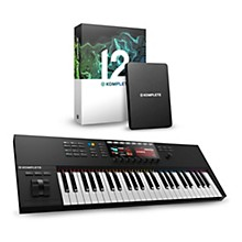 Native Instruments Komplete Kontrol S49 MK2 with Komplete 12