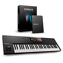 Native Instruments Komplete Kontrol S61 MKII with Komplete 11 Ultimate
