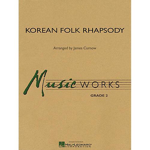 Hal Leonard Korean Folk Rhapsody Concert Band Level 2 Arranged by James Curnow