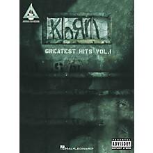 Hal Leonard Korn Greatest Hits Volume 1 Guitar Tab Songbook