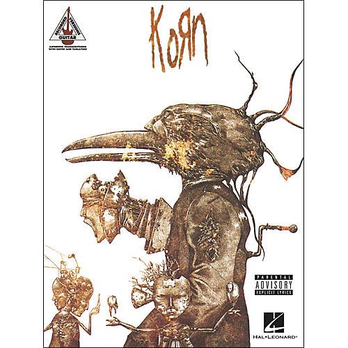 Hal Leonard Korn Guitar Tab Songbook