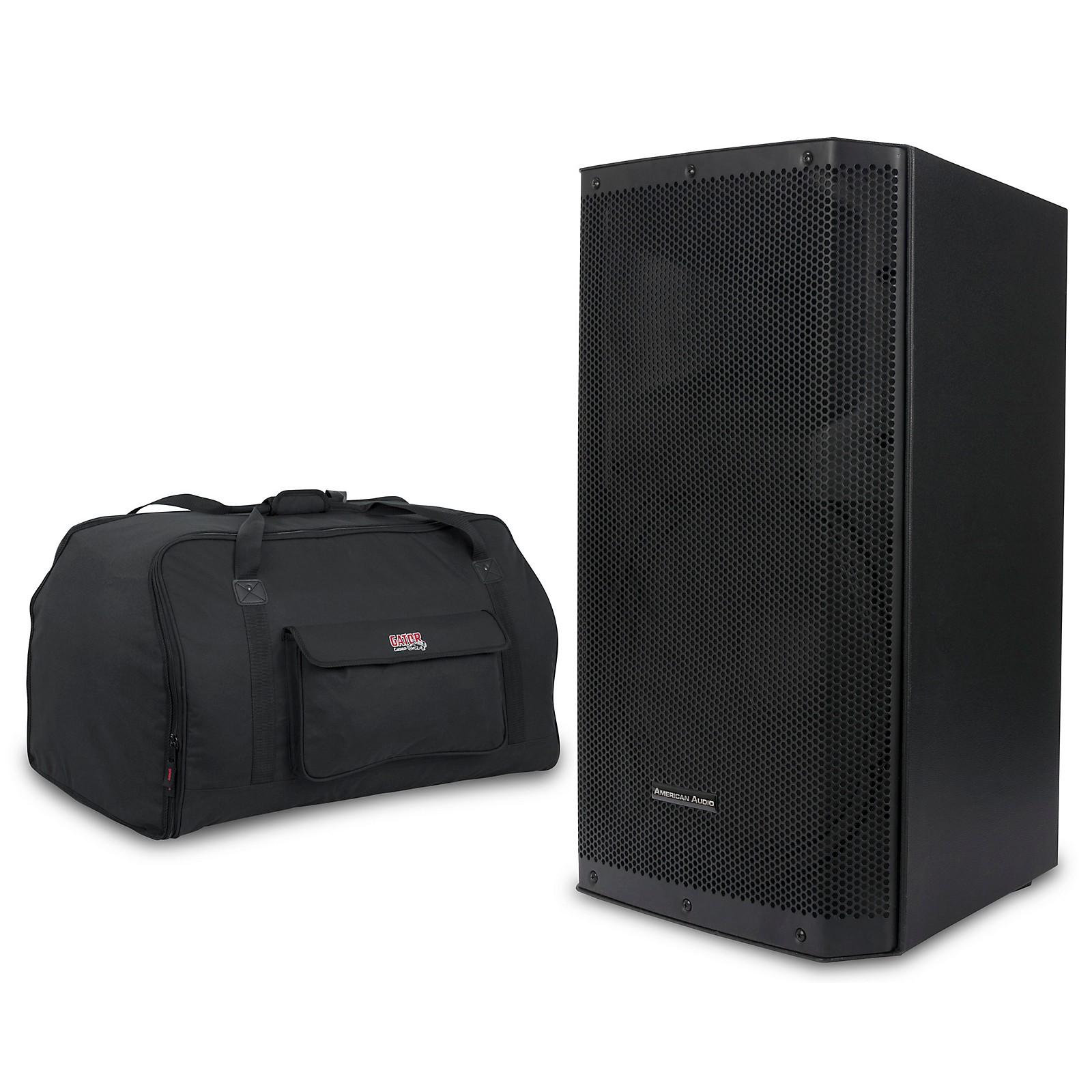 American Audio Kpow 15BT MK II 1,000W Powered Speaker with Tote