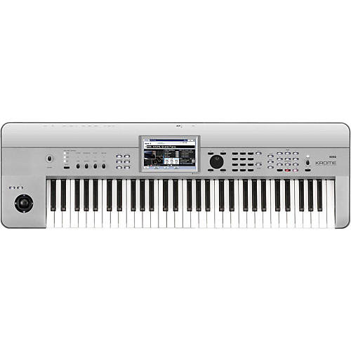 Korg Krome 61 Limited Edition Platinum Keyboard Workstation