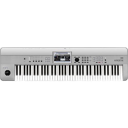korg krome 73 limited edition platinum keyboard workstation musician 39 s friend. Black Bedroom Furniture Sets. Home Design Ideas