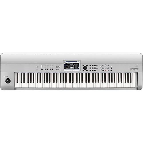 korg krome 88 limited edition platinum keyboard workstation musician 39 s friend. Black Bedroom Furniture Sets. Home Design Ideas