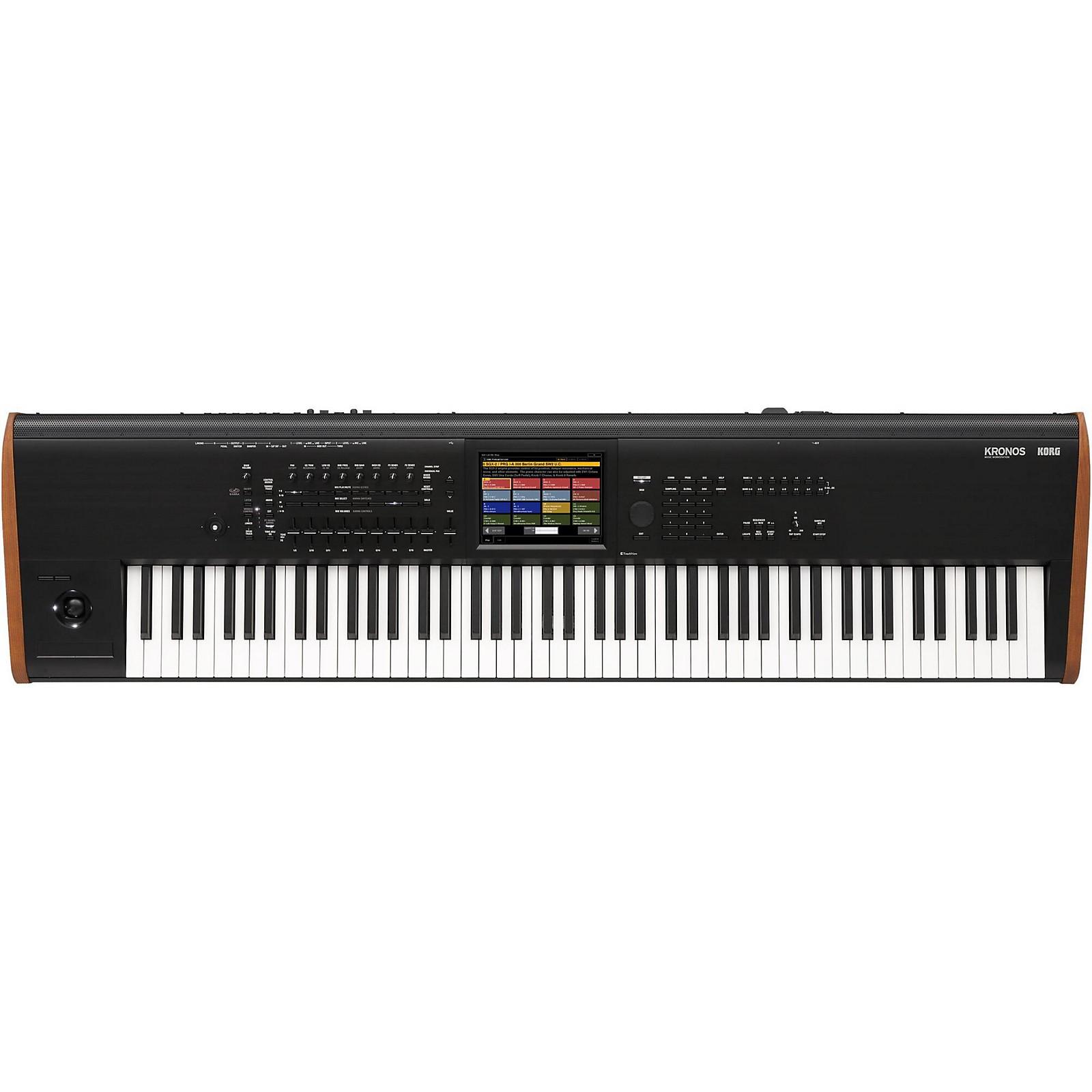 Korg Kronos 88-Key Synthesizer Workstation