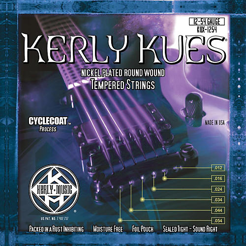 Kerly Music Kues Nickel Wound Electric Guitar Strings Jazz Light