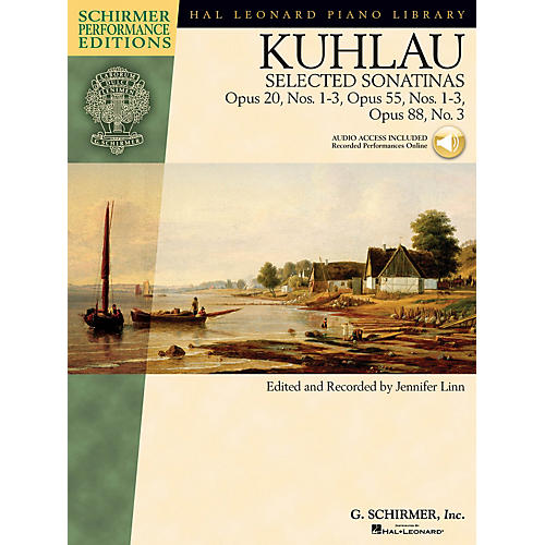 G. Schirmer Kuhlau - Selected Sonatinas Schirmer Performance Editions Softcover Audio Online by Friedrich Kuhlau