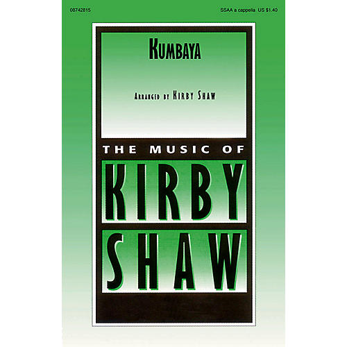 Hal Leonard Kumbaya SSAA A Cappella arranged by Kirby Shaw