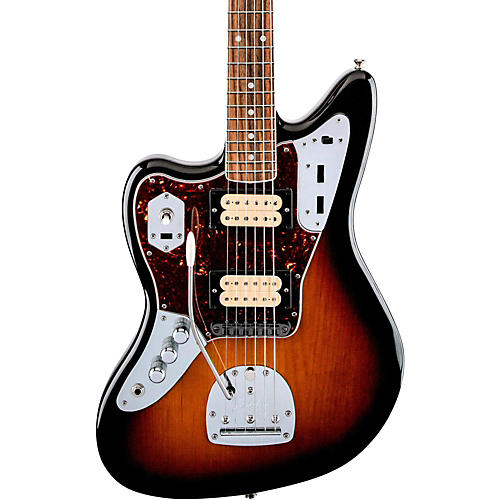 fender kurt cobain jaguar nos left handed electric guitar. Black Bedroom Furniture Sets. Home Design Ideas