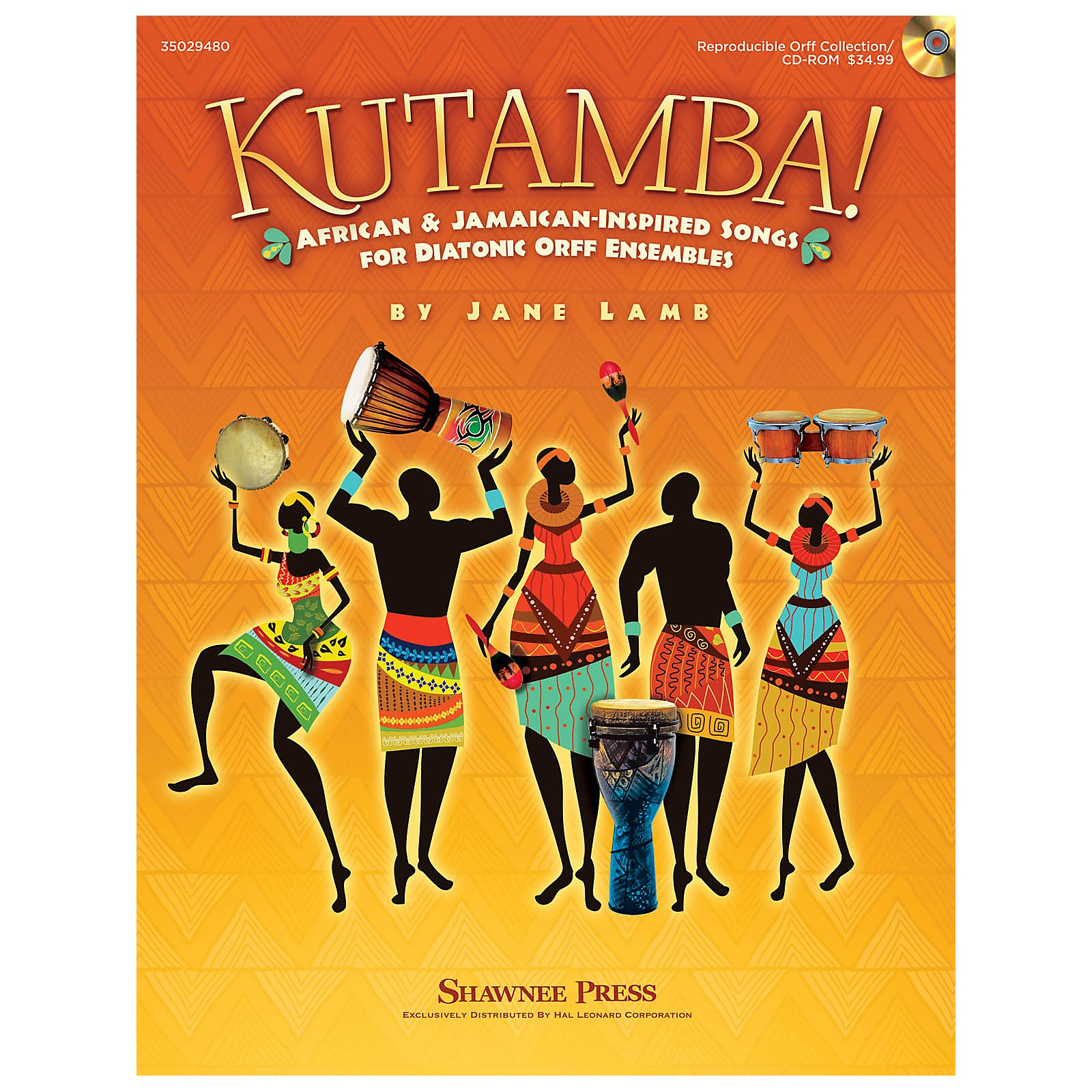Shawnee Press Kutamba! (African and Jamaican Inspired Songs for the Diatonic Orff Ensembles) TEACHER/SINGER CD-ROM