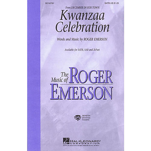 Hal Leonard Kwanzaa Celebration (from December in Our Town) 2-Part Composed by Roger Emerson