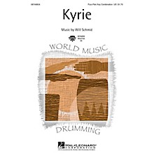 Hal Leonard Kyrie 4 Part Any Combination composed by Will Schmid