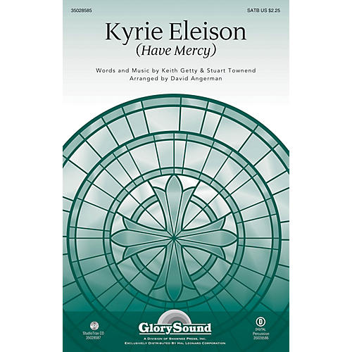Shawnee Press Kyrie Eleison (Have Mercy) Studiotrax CD Arranged by David Angerman