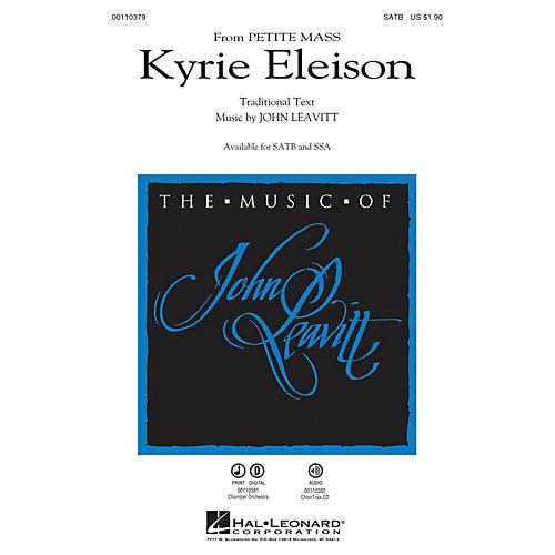 Hal Leonard Kyrie Eleison (from Petite Mass) SSA Composed by John Leavitt