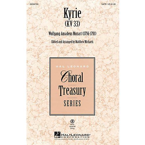 Hal Leonard Kyrie (KV33) SATB arranged by Matthew Michaels