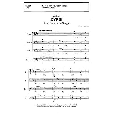 Southern Kyrie TBB Composed by Thomas Juneau