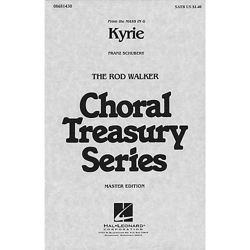 Hal Leonard Kyrie (from Mass in G) SATB arranged by Rod Walker