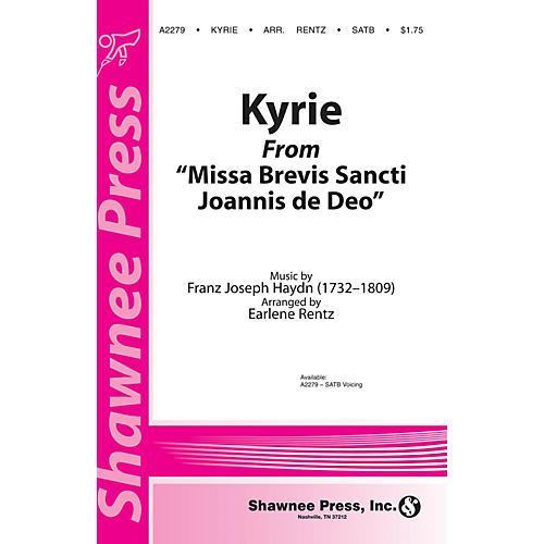 Shawnee Press Kyrie (from Missa Brevis Sancti Joannis de Deo) SATB composed by Franz Joseph Haydn arranged by Earlene Rentz