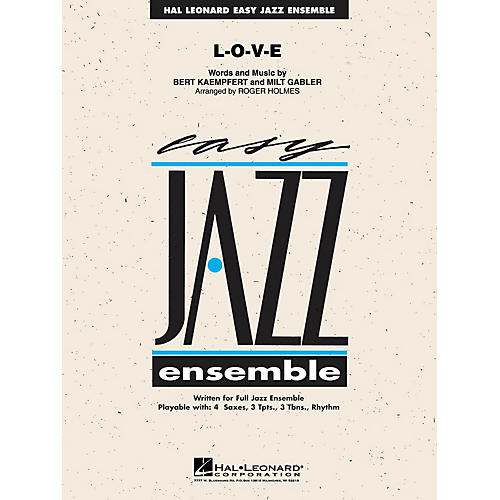 Hal Leonard L-O-V-E Jazz Band Level 2 Arranged by Roger Holmes