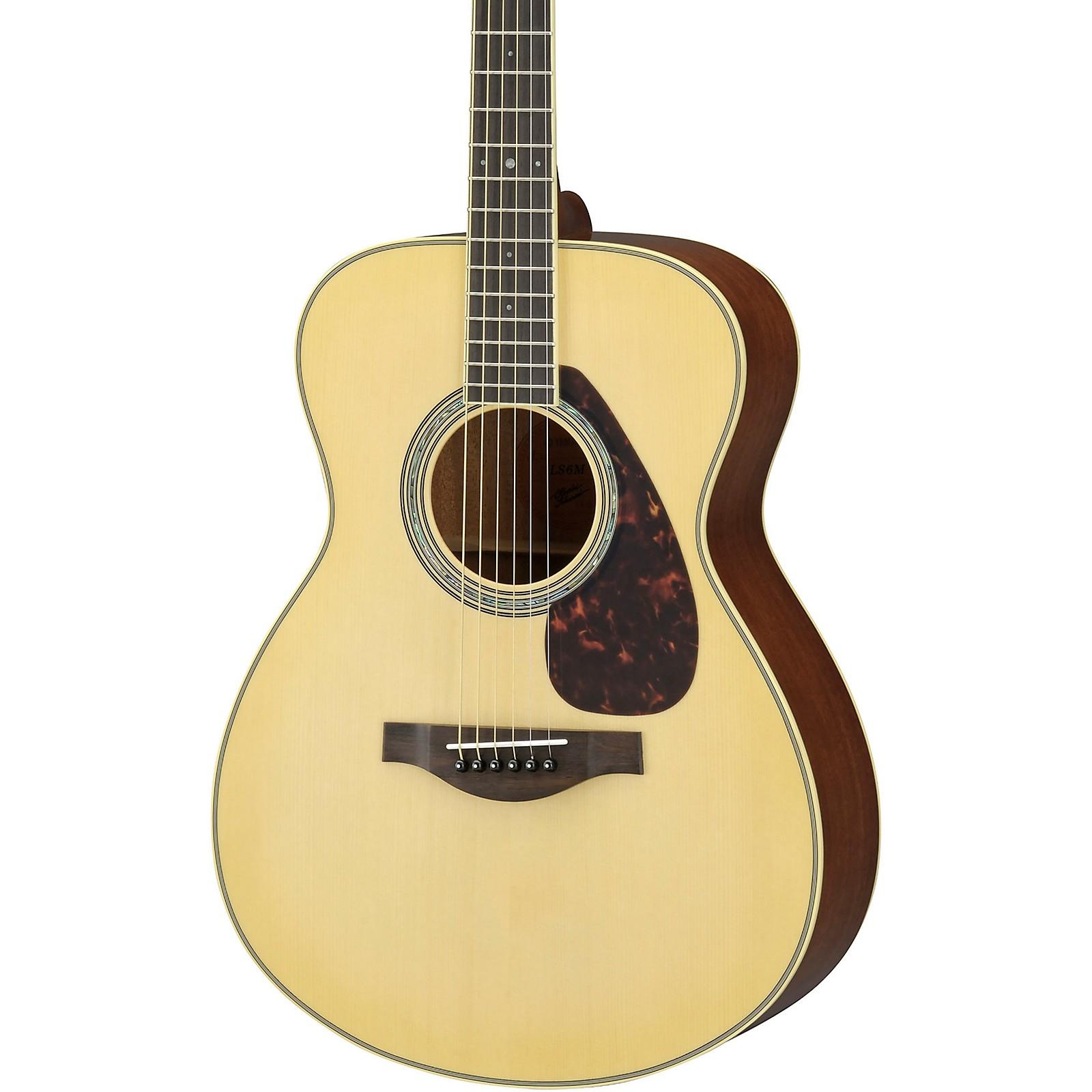 Yamaha L Series LS6M A.R.E. Acoustic-Electric Guitar