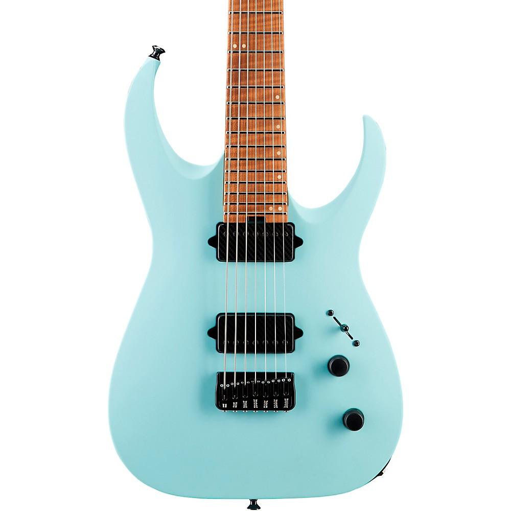 jackson usa signature misha mansoor juggernaut ht7fm electric guitar daphne blue ebay. Black Bedroom Furniture Sets. Home Design Ideas