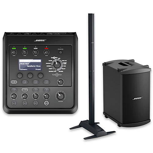 Bose L1 Model 1S System with B2 Bass Module and T4S Audio Engine