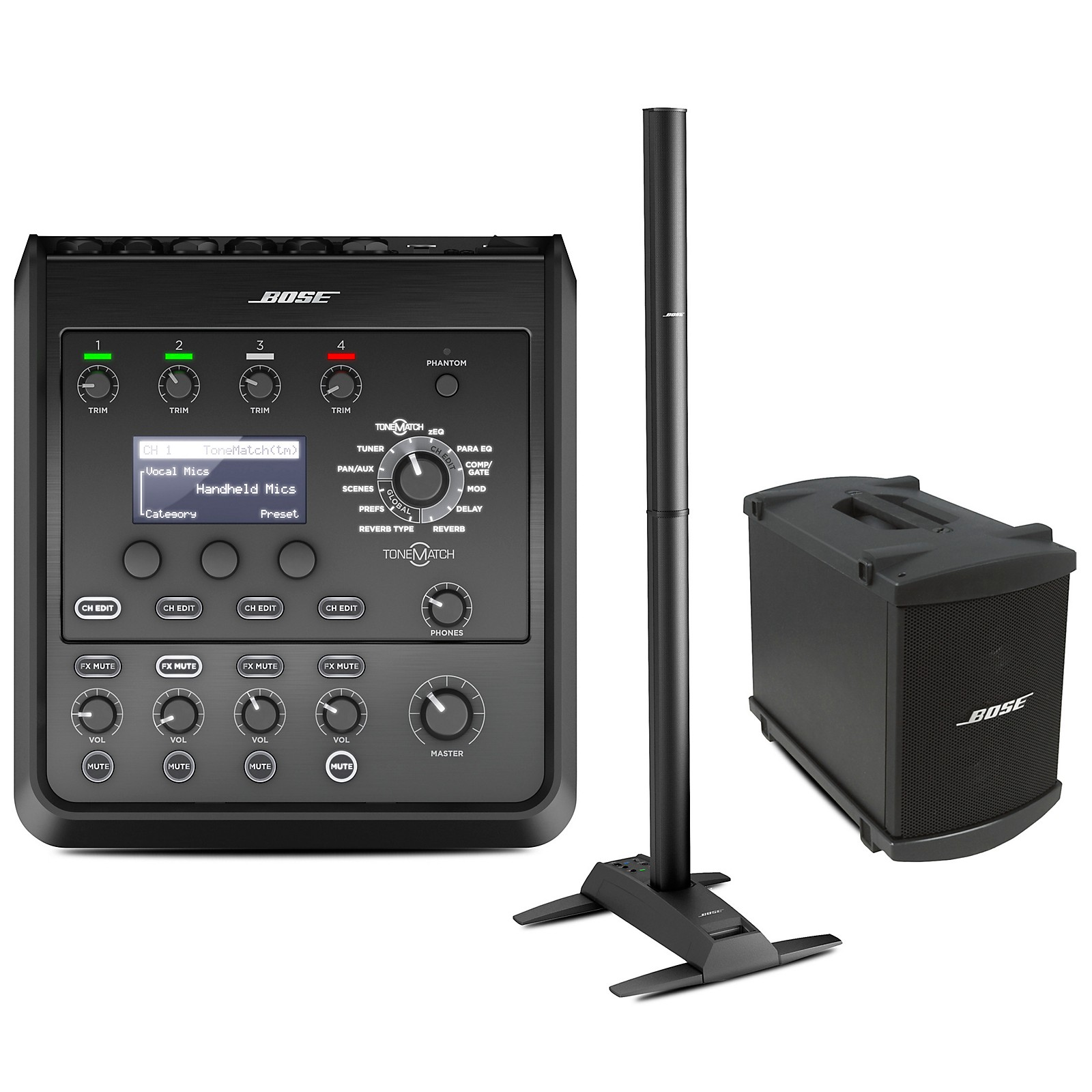 Bose L1 Model II System with B1 Bass Module and T4S Audio Engine