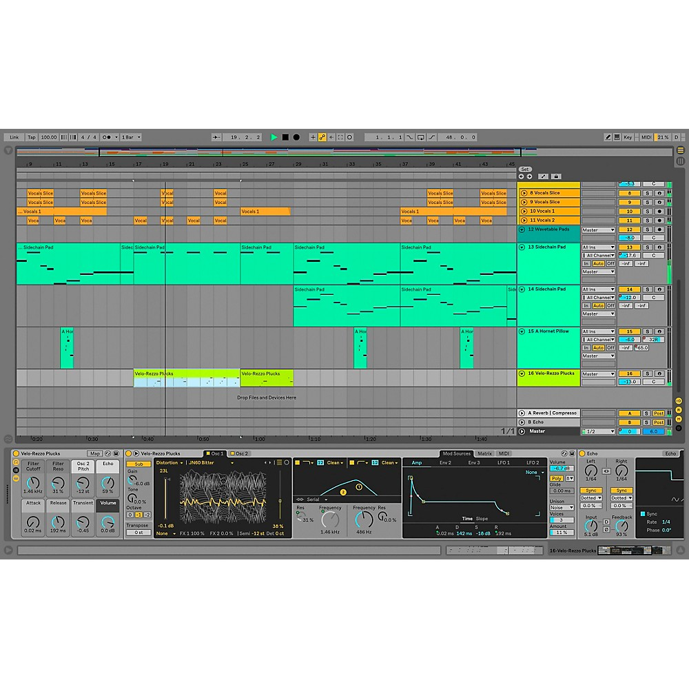 Ableton Live 10 Suite (Software Download)