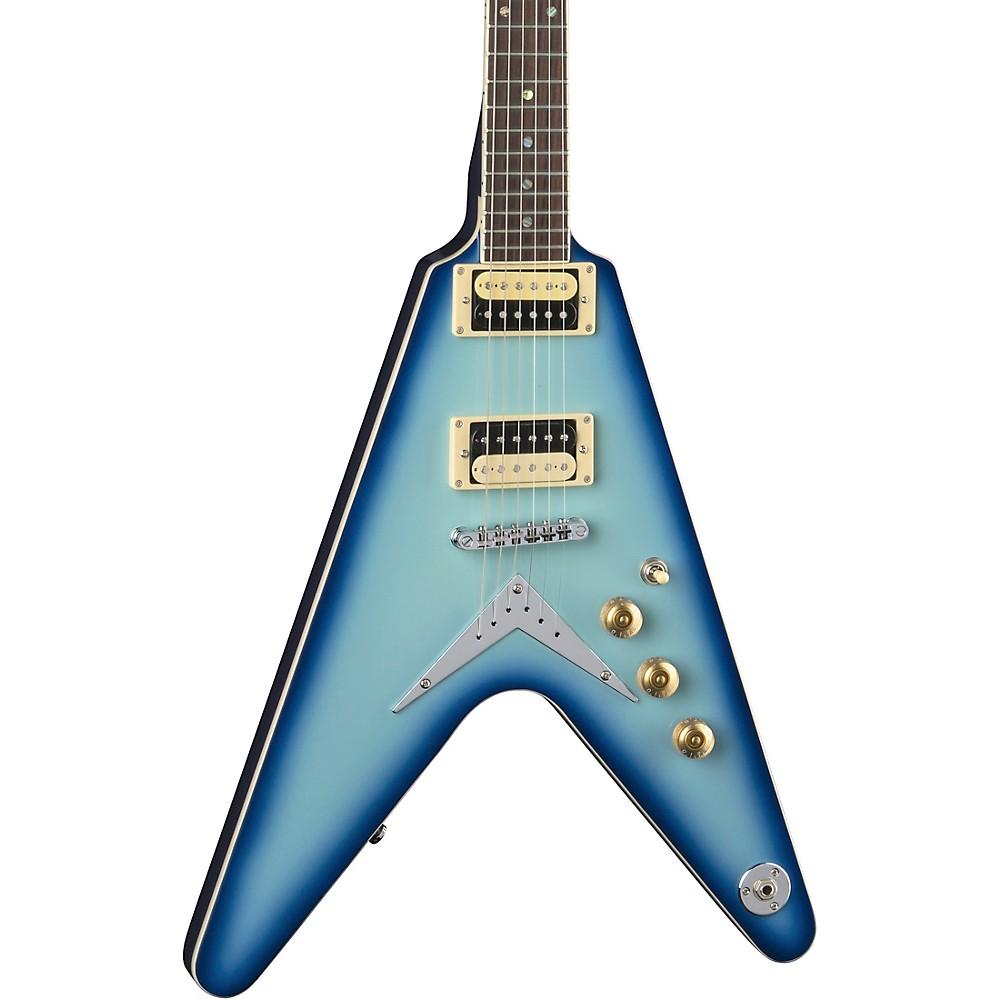 Dean V 79 Electric Guitar Blue Burst