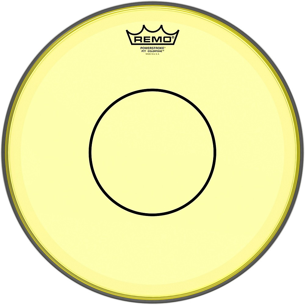 Yellow Drum Heads : remo powerstroke 77 colortone yellow drum head 13 in 757242627457 ebay ~ Russianpoet.info Haus und Dekorationen