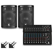 L1402FX Mixer and Kustom HiPAC Speakers 12