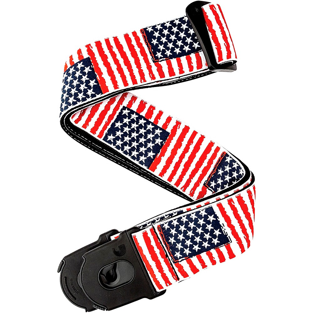 d 39 addario planet waves 50mm nylon guitar strap usa flag pattern usa flag 2 in ebay. Black Bedroom Furniture Sets. Home Design Ideas