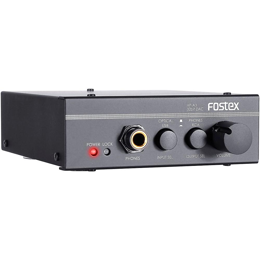 Fostex Hp-A3 32-Bit Digital To Analog Converter/Headphone Amplifier -  AMS-HP-A3