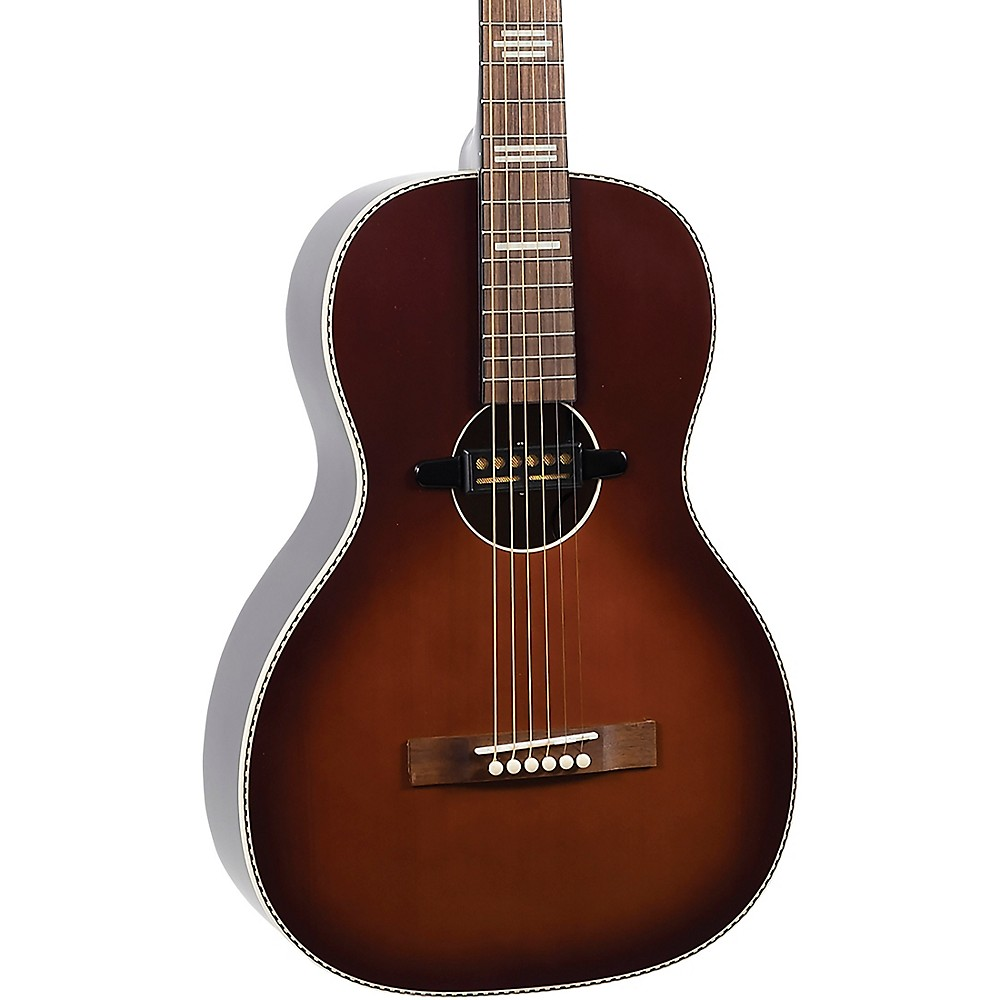 recording king rps 7 e dirty 30 39 s single 0 parlor acoustic electric guitar 840246041524 ebay. Black Bedroom Furniture Sets. Home Design Ideas