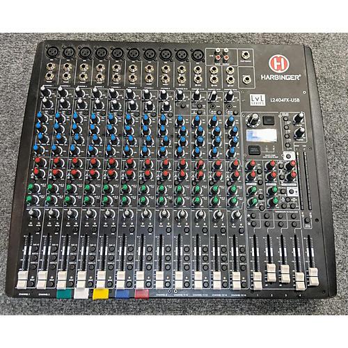 L2404FX USB Unpowered Mixer