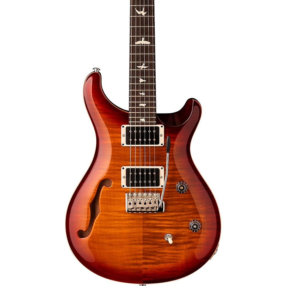 Prs Ce 24 Semi-Hollow Electric Guitar Dark Cherry Sunburst