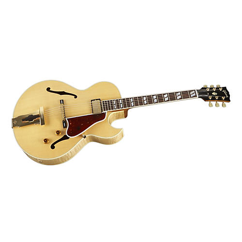 Gibson Custom L4 CES Figured Maple Hollowbody Electric Guitar (Antique Natural)