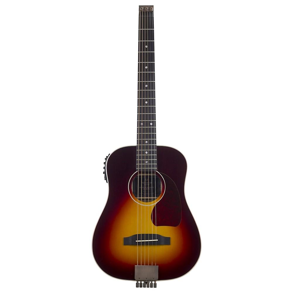Traveler Guitar Ag-450E Acoustic-Electric Travel Guitar 3-Color Sunburst