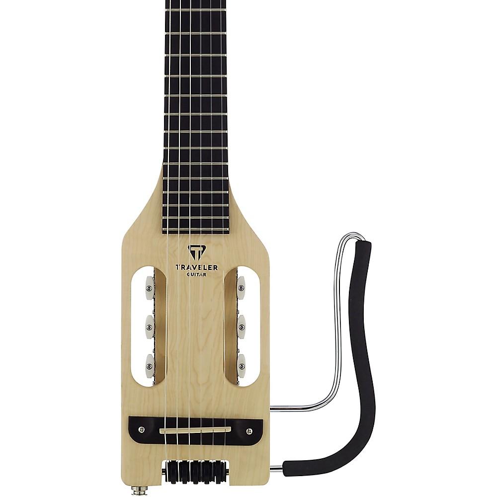 Traveler Guitar Ultra-Light Nylon Maple Nylon-Electric Guitar Natural