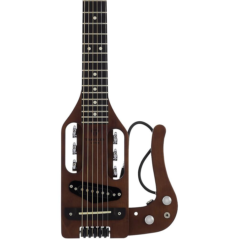 Traveler Guitar Pro-Series Hybrid Acoustic-Electric Guitar Antique Brown