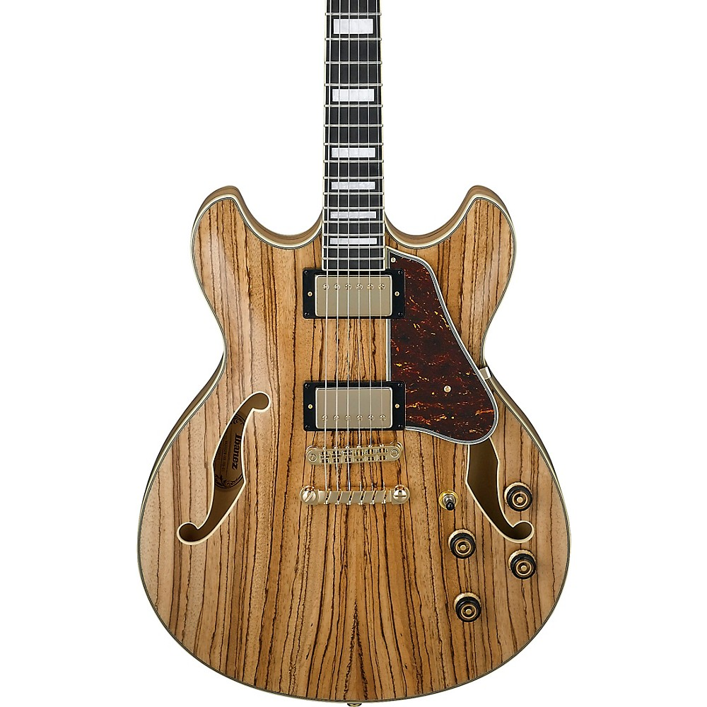 Ibanez As93zw Artcore Expressionist Semi-Hollow Electric Guitar Natural