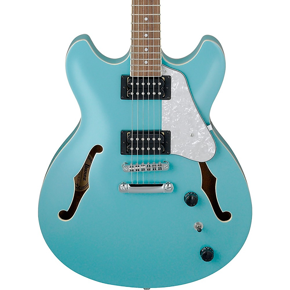 Ibanez Artcore Vibrante As63 Semi-Hollow Electric Guitar Mint Blue