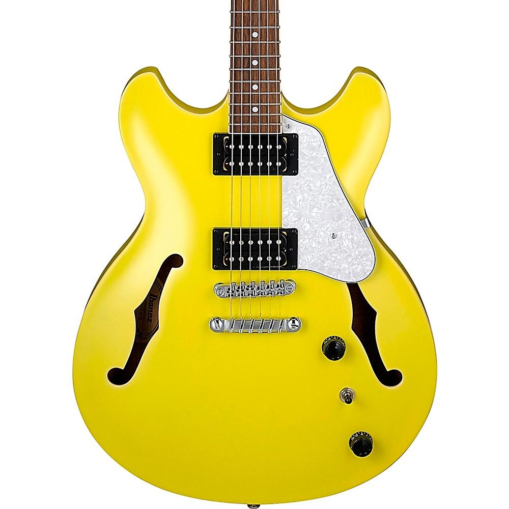 Ibanez Artcore Vibrante As63 Semi-Hollow Electric Guitar Lemon Yellow