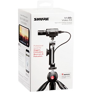 Save 30% on a Shure MV88+ Video Kit