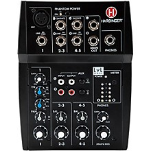 Open BoxHarbinger L502 5-Channel Mixer with XLR Mic Preamp